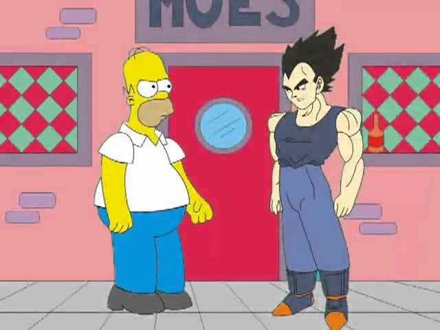Homero Simpson vs. Vegeta - Parodia Travel Video