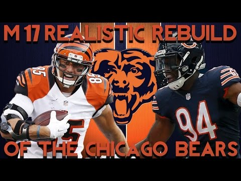 Madden 17 Franchise | Realistic Rebuilding of The Chicago Bears!