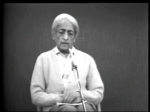 Krishnamurti - ¿Es verdad que el yoga despierta esa energía profunda llamada Kundalini?