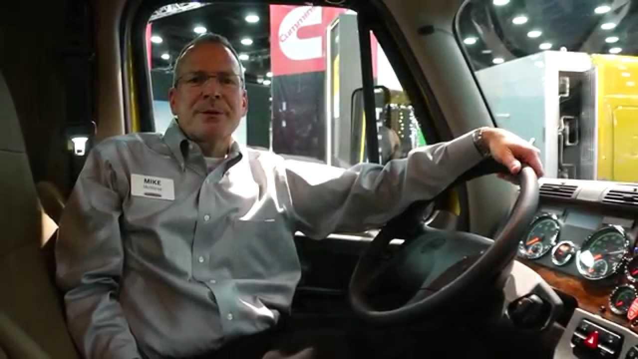 Inside Freightliner Cascadia Evolution 2014 Wiring Diagrams Digital Circuit Breaker Identifier 90120vac Interior At Mid America Trucking Rh Youtube Com 2012