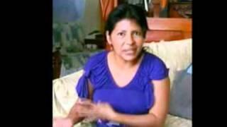 Testimonio de Presidenta de Asociación de Pacientes de TB de Madre de Dios