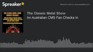 An Australian CMS Fan Checks In