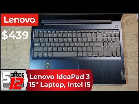 Lenovo IdeaPad 3 | Windows 10 | Intel Core i5-1035G1 | 15.6 inches | 81WE00ENUS
