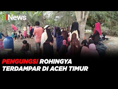 Lari dari Kamp Bangladesh, 81 Pengungsi Rohingya Terdampar di Aceh Timur - iNews Pagi 05/06
