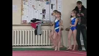 Алина спортивная гимнастика(вольные)