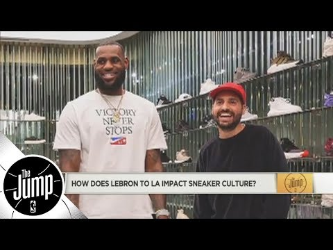 What LeBron James to Lakers means for the shoe industry and more NBA shoe talk  The Jump  ESPN