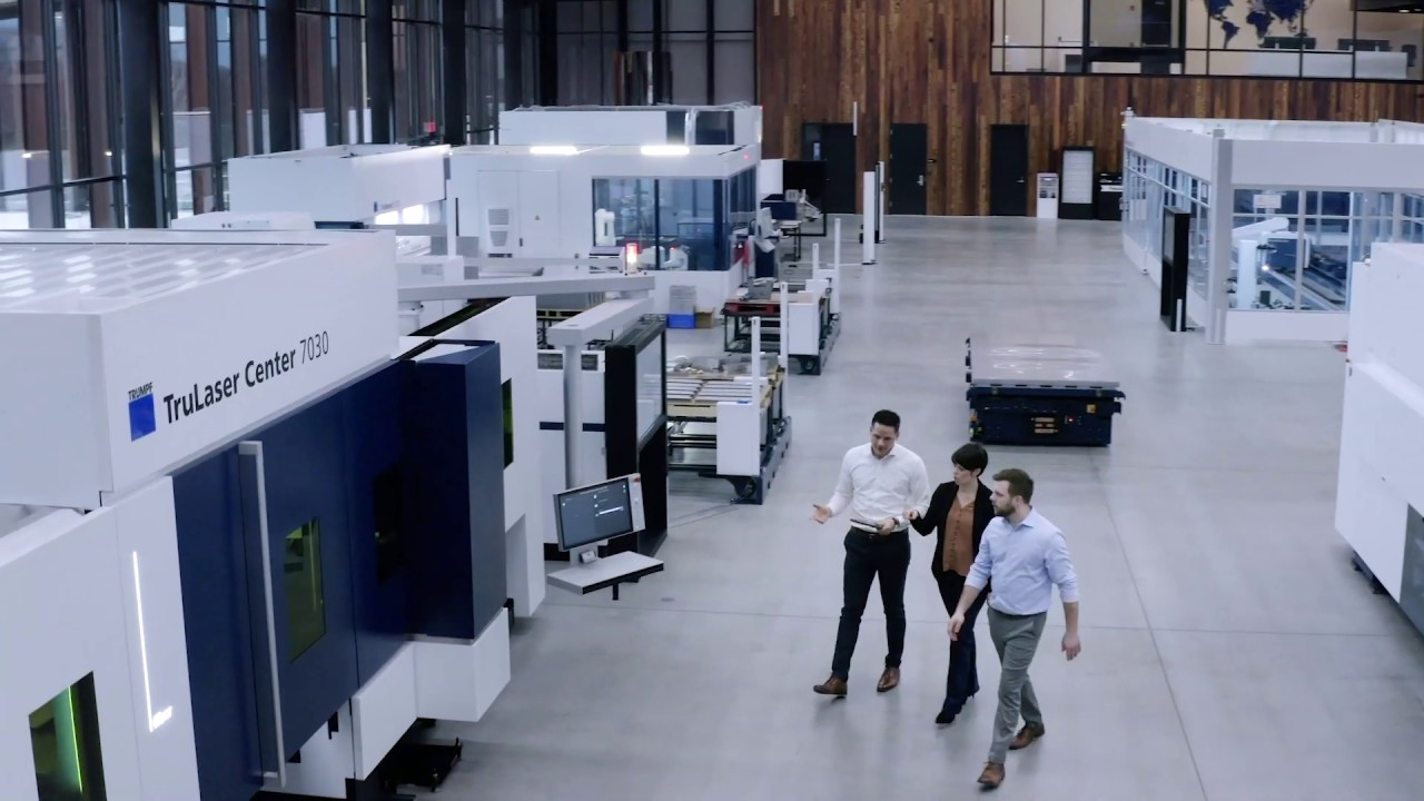 CNC Punch, Punch / Laser: TRUMPF's Chicago Smart Factory