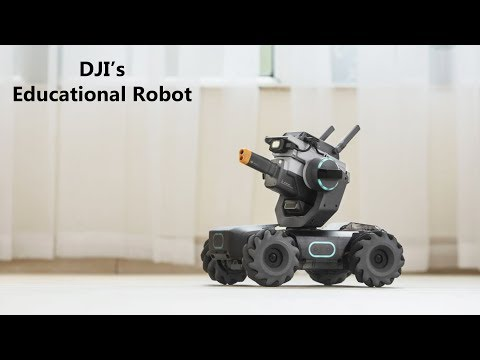 Meet The Robomaster S1 – Dji's Advanced New Educational Robot To Teach Kids How To Code.