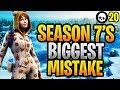 This Is The BIGGEST Disappointment Of Season 7... (Fortnite Season 7 Update)