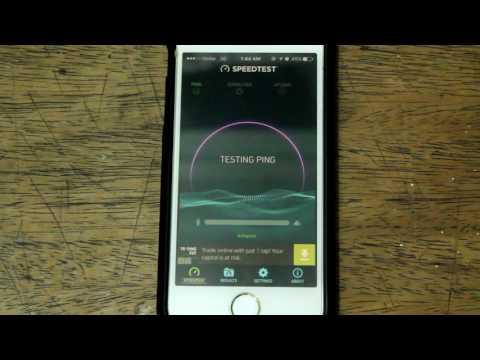 Speedtest: Globe Broadband (3G Postpaid) in Angono Rizal