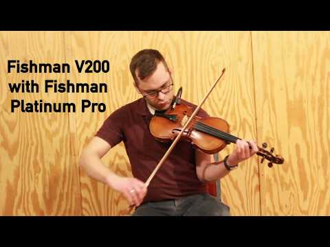 Fishman V200 Violin Pickup Demo