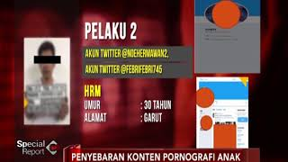 Berikut Akun Twitter Pelaku Pedofilia Penyebar Konten Porno Anak Special Report 08 01