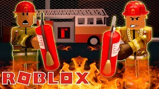 FIGHTING FIRES IN ROBLOX