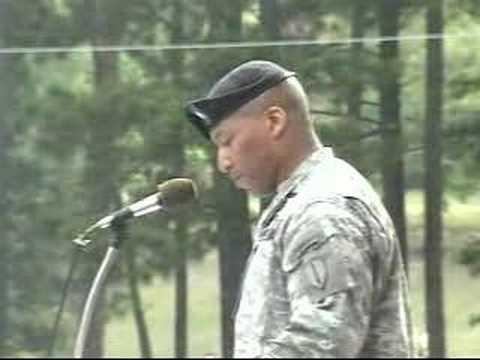 LTC Randolph C. White Jr. Delivers Infantry Graduation Speec