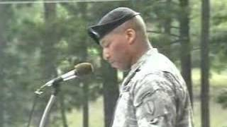 LTC Randolph C. White Jr. Delivers Infantry Graduation Speec