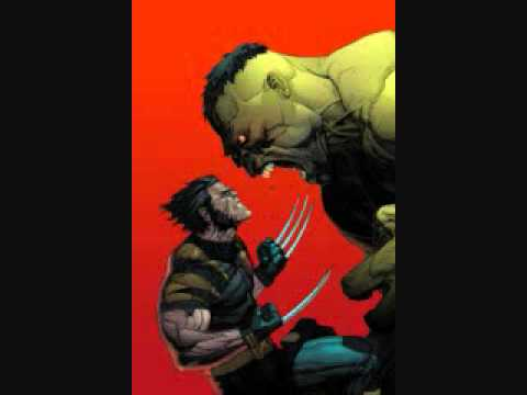 Superhero Matchups Hulk vs Wolverine - YouTube