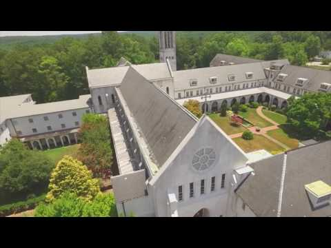 Monastery of the Holy Spirit By Drone 2016
