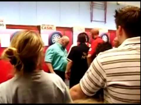 Adrian Lewis vs. Kevin Painter Incident - 2008 PDC Holland Masters
