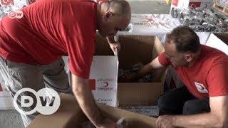 Roter Halbmond: Türkische Hilfskonvois für Idlib | DW Deutsch