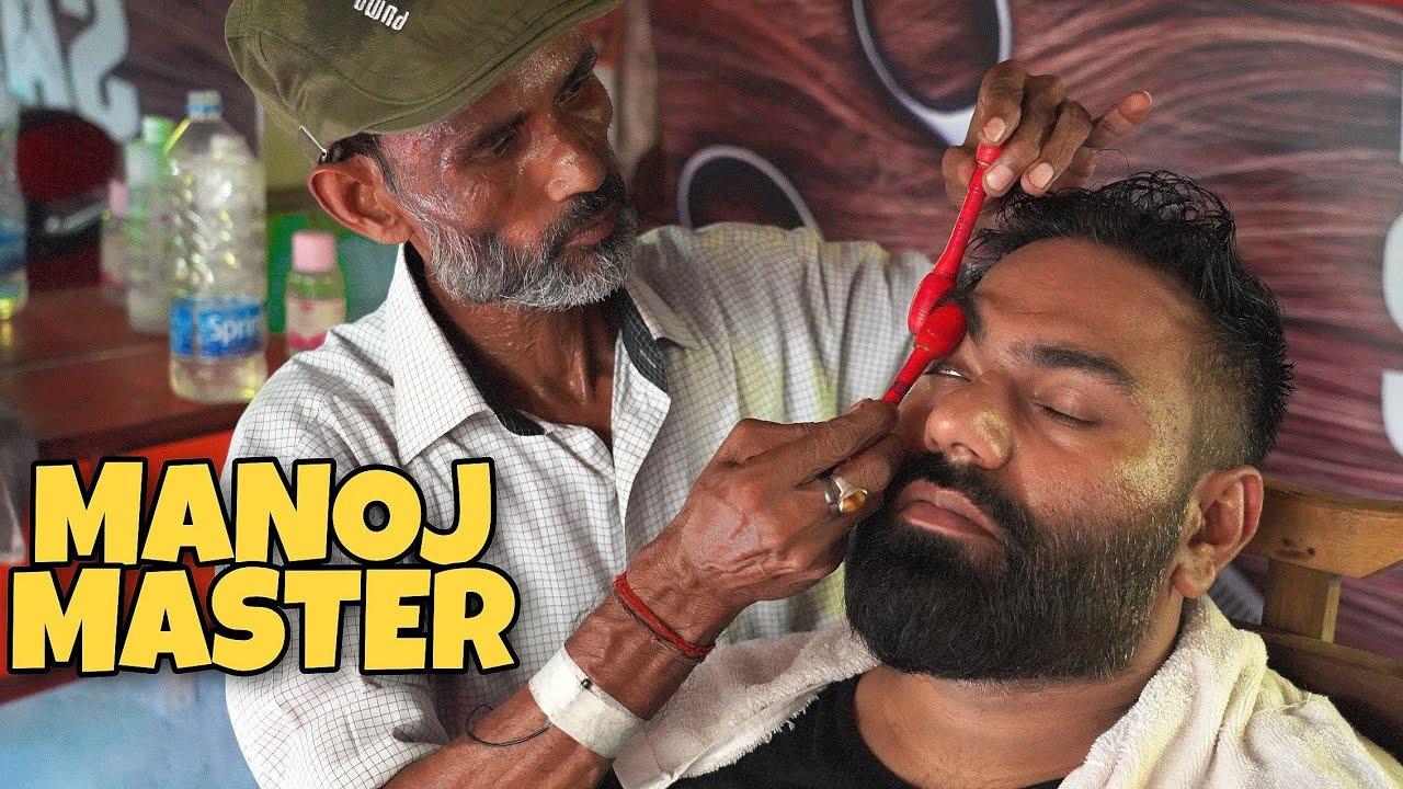 MANOJ MASTER ENERGISING HEAD MASSAGE & SIGNATURE CRACKINGS | ASMR INDIAN BARBER💈 DESCRIPTION 💈
