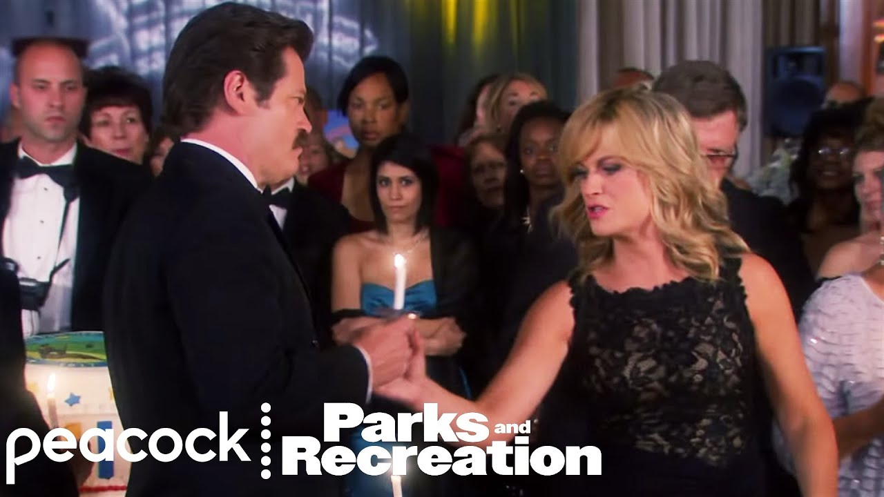 Download Ron Swanson vs. Leslie Knope - Parks and Recreation