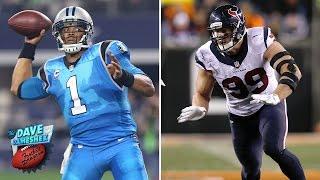 Best of Cam Newton & J.J. Watt on 'Sound FX' | Dave Dameshek Football Program | NFL