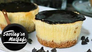 Çikolatalı Cheesecake Nasıl Yapılır? | Çikolatalı Porsiyonluk Cheesecake Tarifi
