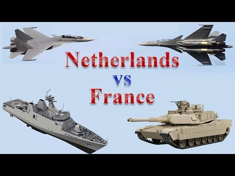 France vs Netherlands Military Comparison 2017