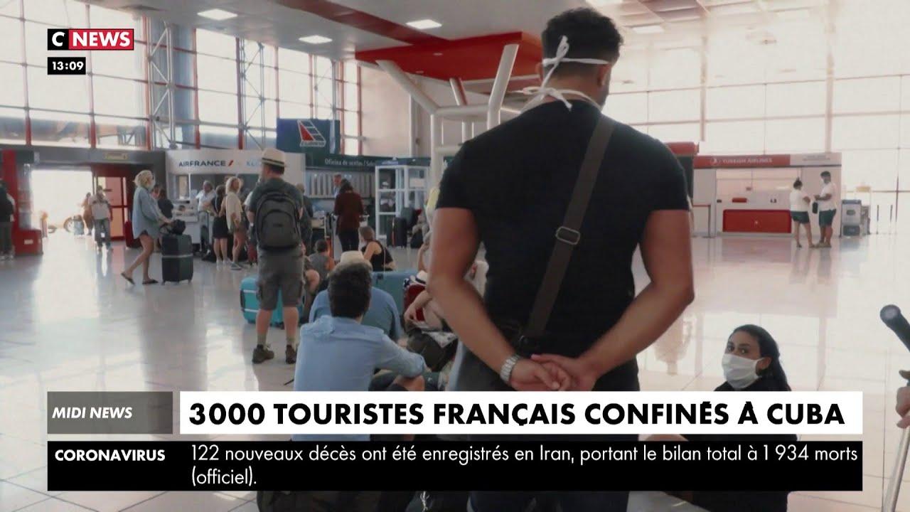 3000 touristes français sont bloqués à Cuba