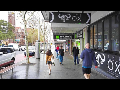 Walking Around TAYLOR SQUARE Darlinghurst SYDNEY AUSTRALIA (Short Video)