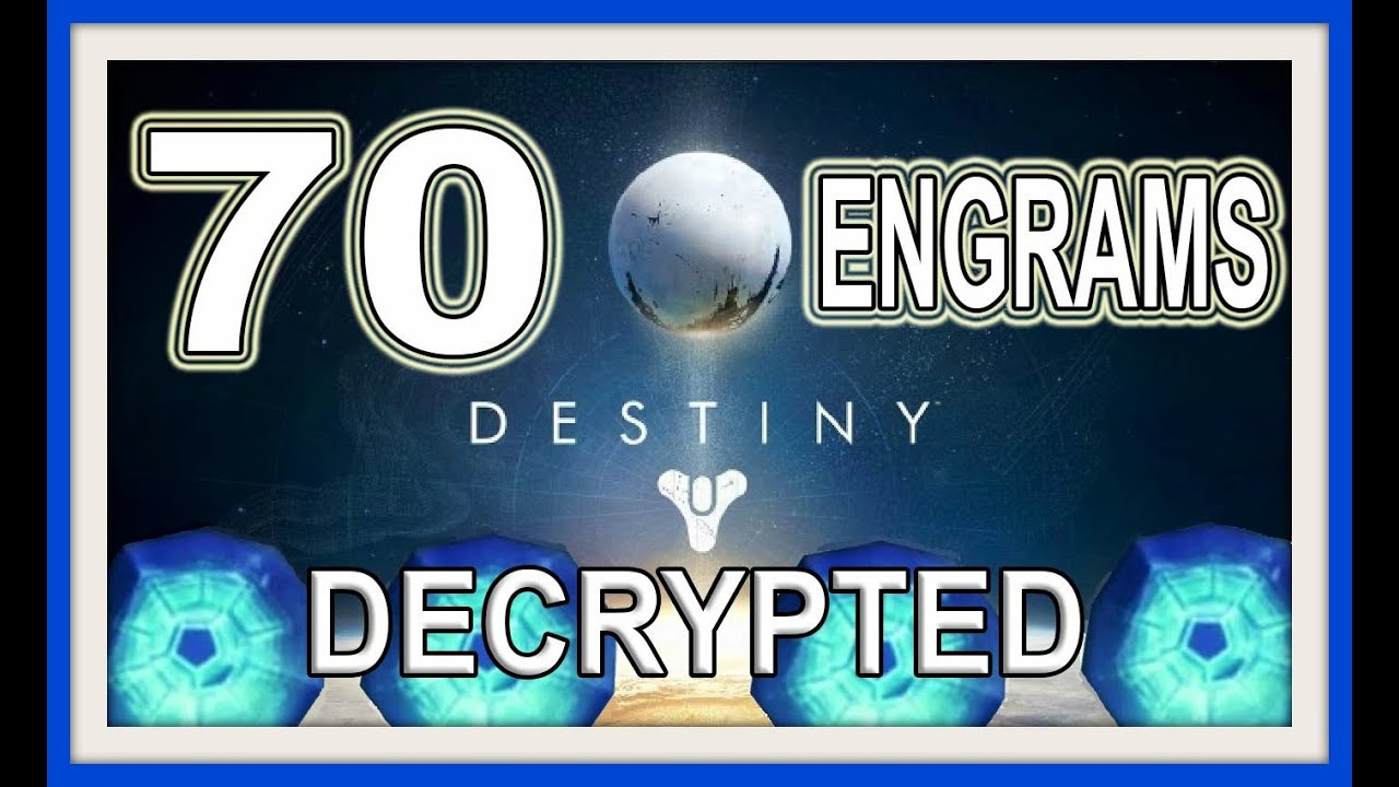 Bye Bye to the Exotic Engram Xur Sells *updated* > Destiny ...