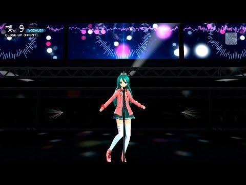 【初音ミク  PDA- ƒ2nd Live Studio】 Cat Food キャットフード 【初音ミク FULL HD 1080p】 English Sub Romaji Lyrics 日本語歌詞