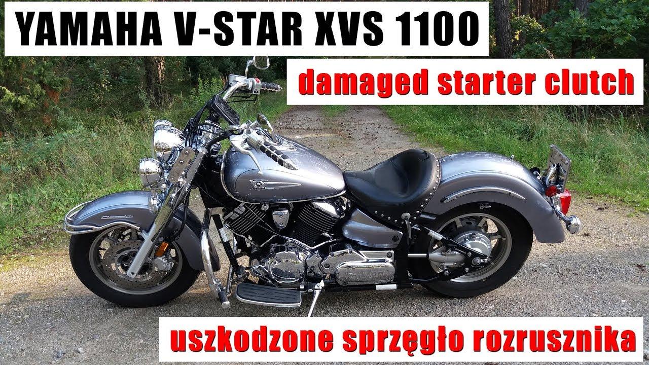 Yamaha V Star Starter Clutch