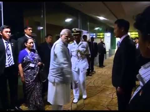 PM Modi departs from Singapore after 2-nation visit to Malaysia & Singapore