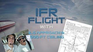 Back In The Soup! Flying IFR| Arnaldo wears a hat....