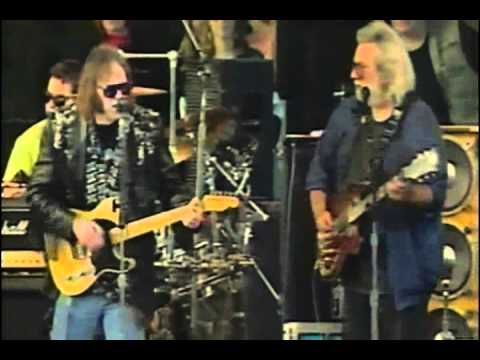 Neil Young Grateful dead   forever young 11 03 91