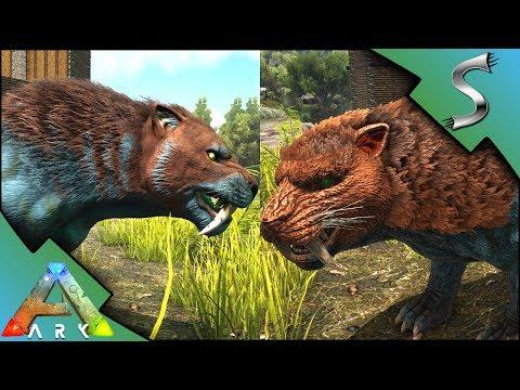 NEW SABERTOOTH REDESIGN! OLD & NEW COMPARISON + TEK TROUGH! - Ark: Survival Evolved [S3E128]