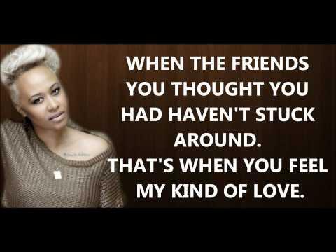 Emeli Sandé - My Kind Of Love [lyrics] HD