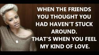 Emeli Sandé - My Kind Of Love [lyrics] HD