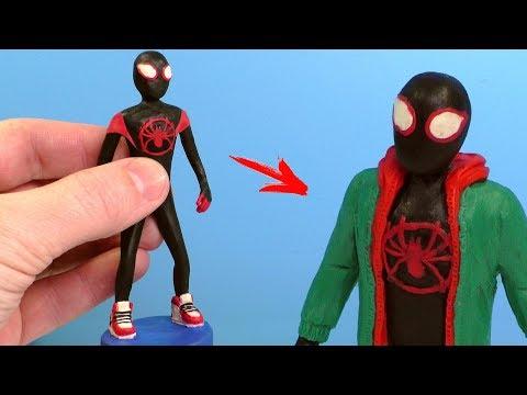 Как слепить человека паука