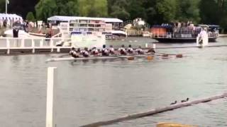 Ridley College Rowing First Race at the Henley Royal Regatta in England