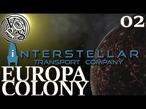 Europa Colony : Let's Play Interstellar Transport Company EP02 - Trading Tycoon in Space