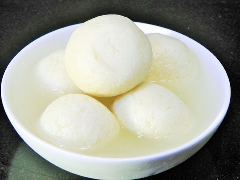 Rasgulla Recipe | pasteurized milk rasgulla by madhurasrecipe | Perfect Sponge Rasgulla