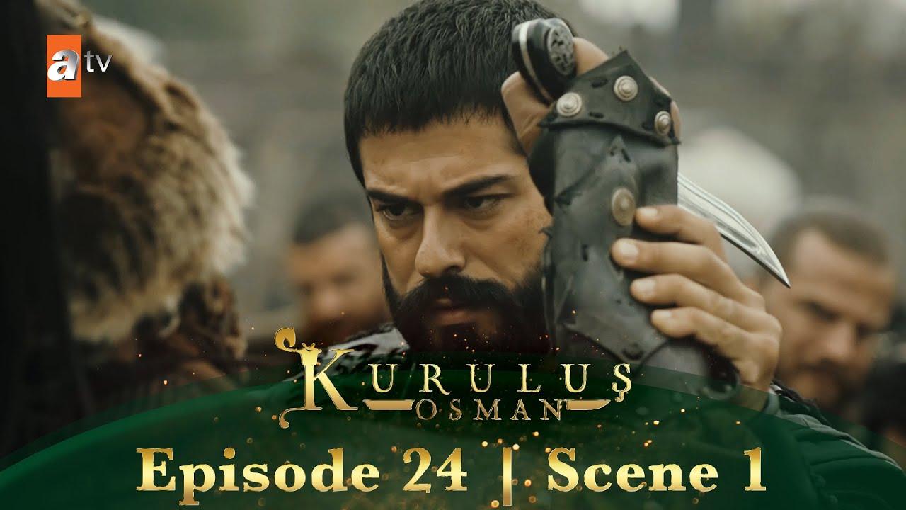 Kurulus Osman Urdu | Season 2 Episode 24 Scene 1 | Wo Monge ko kamery main le ke aya!