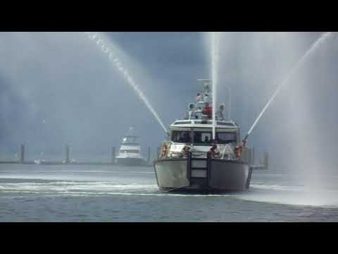 City of New York/ FDNY says farewell to Spirit of Malabo