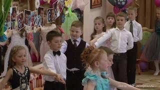 Танцы на выпускном в детском саду - видео от Видеоскульптор