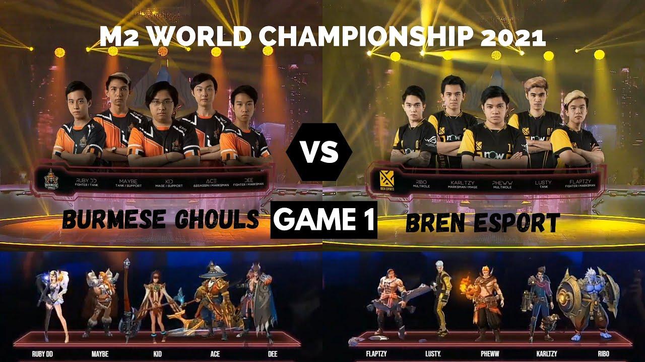 Download BURMESE GHOULS 🇲🇲 VS 🇵🇭 BREN ESPORT (GAME 1) Upper Bracket (M2 WORLD CHAMPIONSHIP 2021)
