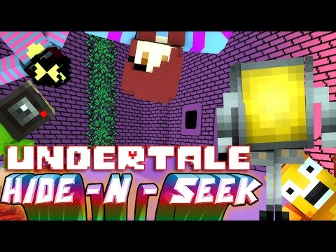 METTATON PLAYS GAMES! | Minecraft Mini-Game UNDERTALE HIDE N SEEK! (Roleplay)