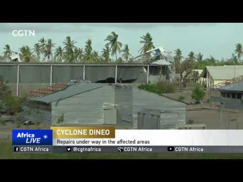 Storm leaves a trail of destruction in Mozambique