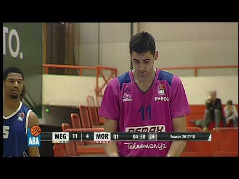 ABA Liga 2017/18, Round 3 match: Mega Bemax - Mornar (7.10.2017)